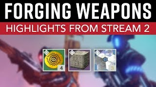 Destiny 2 - Heroic Adventures, New Public Event, & Weapon Forging! // Highlights from Stream 2