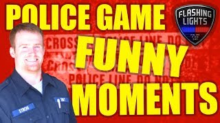 EMS FUNNY MOMENTS! - Flashing Lights Multiplayer Gameplay - Police/Emergency Services Sim