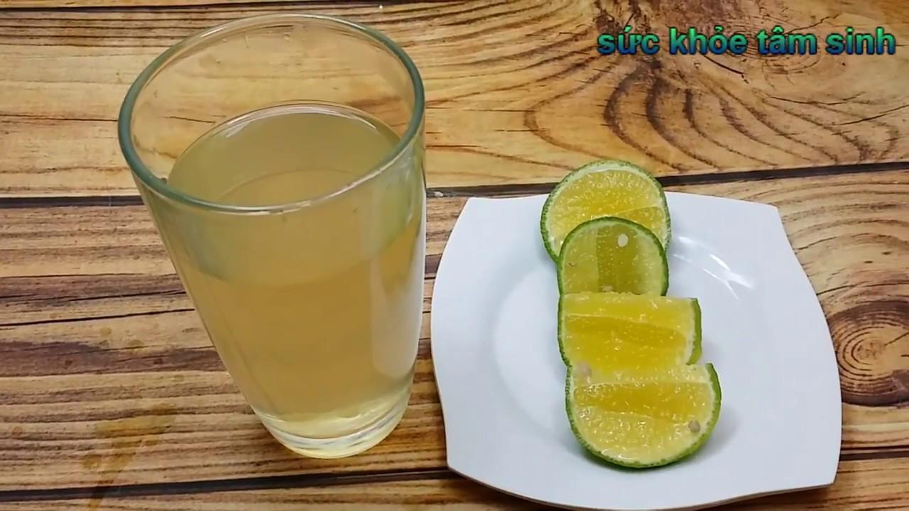 Cách giảm cân nhanh bằng nước chanh ẩm mật ong tại nhà