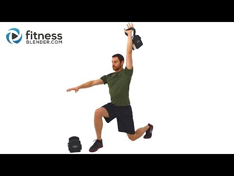 Non-Stop Endurance Kettlebell Workout 33 Minute Total Body Kettlebell Routine