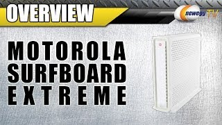Motorola Surfboard Extreme 3.0 Cable Modem Overview - Newegg TV
