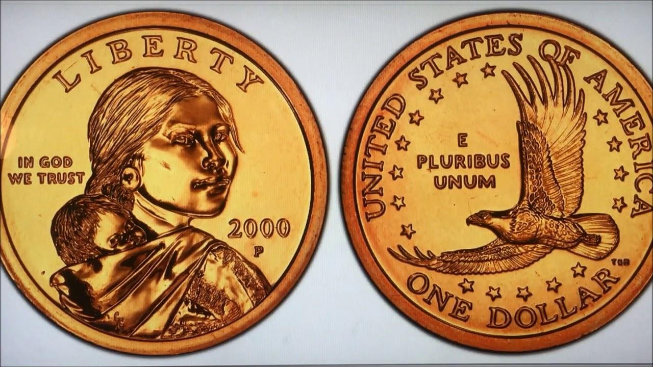 Errors Varieties Of Sacagawea Native American Dollars Rare