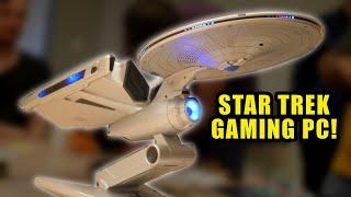 This Star Trek Enterprise, is a GAMING PC!