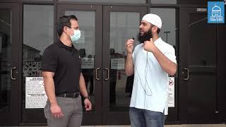 Man Accepts Islam at the Doors of EPIC Masjid During the Covid-19 Pandemic.   Shahadah