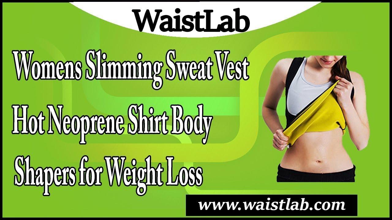 4b7917f258 Womens Slimming Sweat Vest Hot Neoprene Shirt Body Shapers for ...