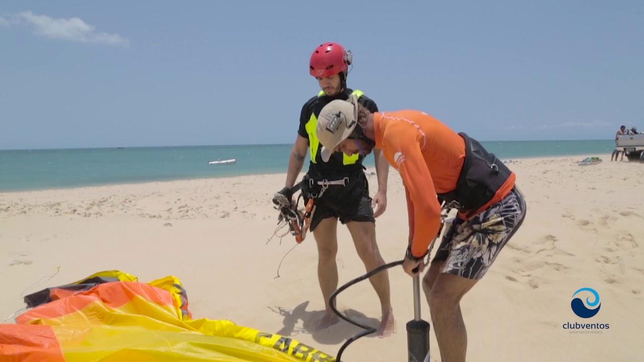 Beginner Kitesurf Lessons | ClubVentos Jericoacoara