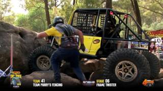 Tuff Truck Challenge 2016 -TEAM PARRYS FENCING on Frame Twister