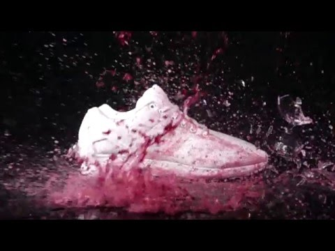 Adidas Triple White ZX Flux vs RED WINE!! - Crep Protect Cure - EXTREME CLEAN!