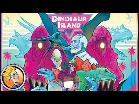 Dinosaur Island — game preview at GAMA Trade Show 2017