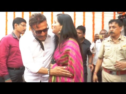 Jackie Shroff With Shakti Kapoor Wife Celebrate Gudi Padwa