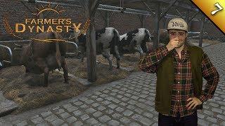 DE VACAS Y POLLOS | Farmer's Dinasty | Ep. 7 Gameplay Español