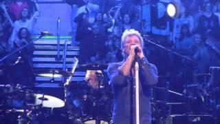 Raw Footage Of Bon Jovi Living On A Prayer At The Philips Arena Atlanta Ga 2017