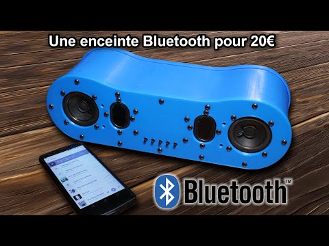 Une Enceinte Bluetooth DIY Efficace pour 20€