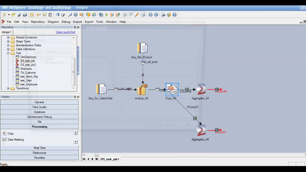 Datastage tutorial - Example using Join , Aggregator stage - Learn at  KnowStar
