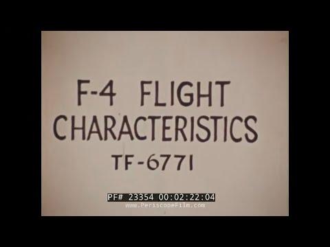 F-4 PHANTOM FLIGHT CHARACTERISTICS  FLAT SPIN   23354