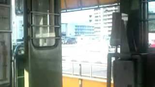 土佐電気鉄道800 形802(入口側) ドア閉