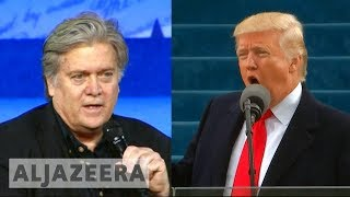 Trump attacks Bannon after new book, says he 'lost his mind' 🇺🇸