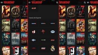 Aplicativo para assistir Series, Filmes e TV Veja os jogos do seu time.
