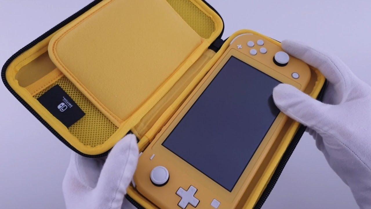 Hori Slim Tough Pouch Nintendo Switch Lite Unboxing Youtube