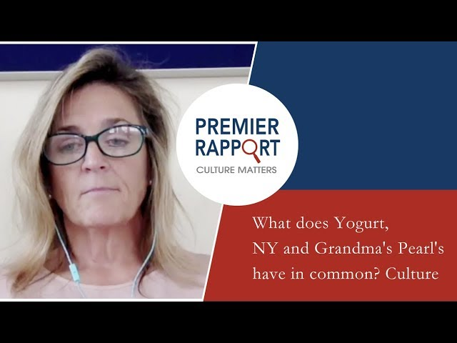 What does Yogurt, NY and Grandma's Pearl's have in common? Culture