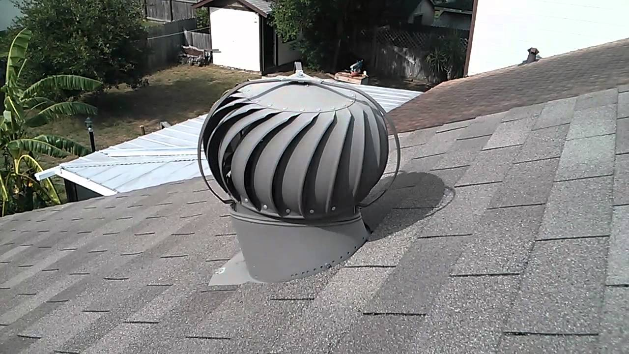 Spinning Roof Vent Youtube