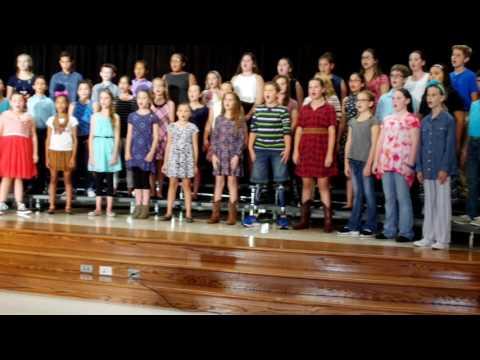 Northpointe Intermediate School 2016 Fall Choir Show Part 2