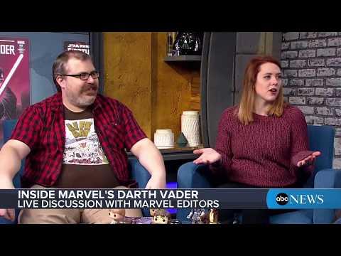 'Star Wars: The Last Jedi' movie (2017) and 'Darth Vader,' 'Poe Dameron' comics on 'Inside Marvel'