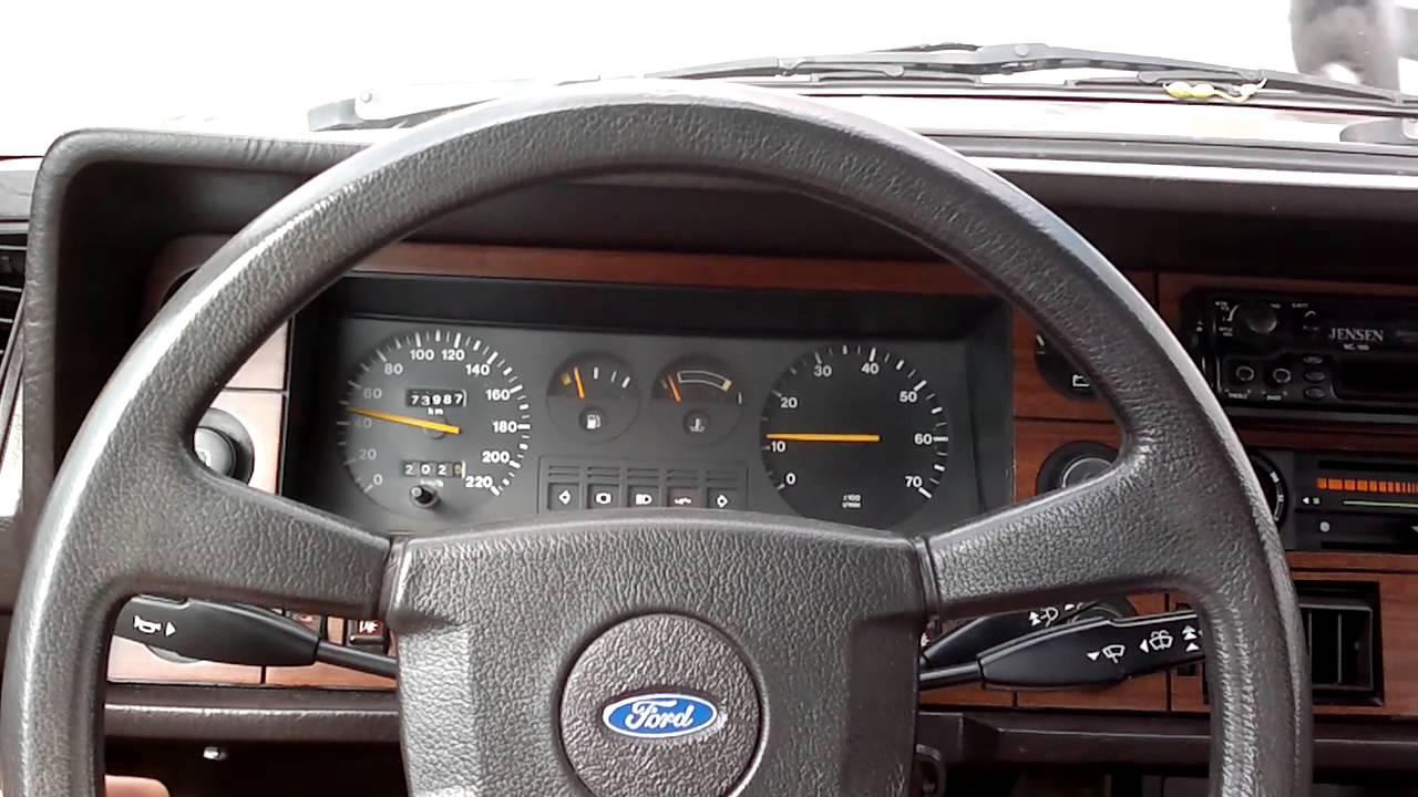 Ford Granada 2.8i Ghia IV - YouTube
