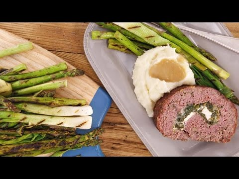 Rolled Spring Meatloaf