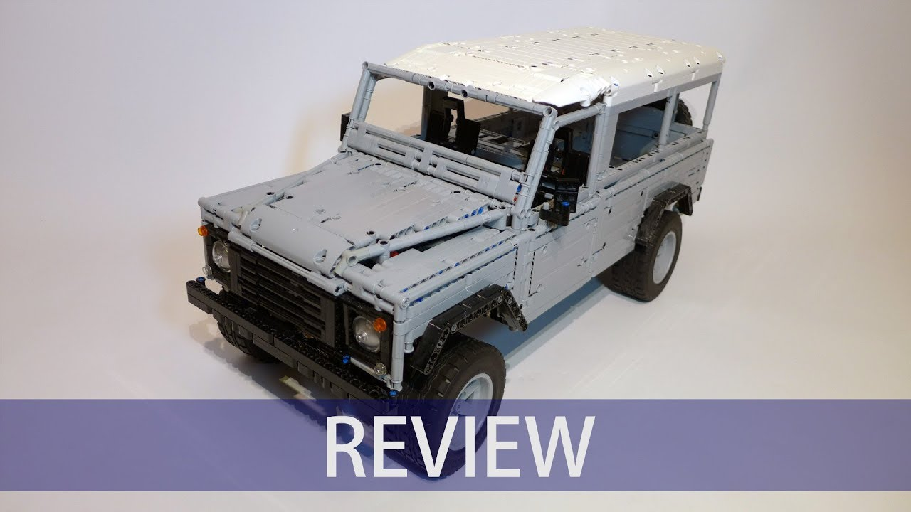 Lego Technic Landrover Defender 110 By Sheepo Review