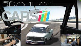 Project CARS G27 Old Vs New Car Pack! BMW 2002 turbo@Dubai Autodrome