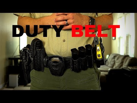 Law Enforcement Duty Belt