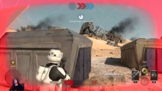 Bada UnlimitedTV (AdkinsB89) Star Wars battlefront Live PS4 Broadcast 12-18-15 take1