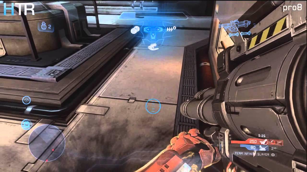 Halo 4 Rocket Launcher Spree With 1 Rocket Triple