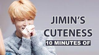 10 Minutes of BTS Jimin's Cuteness