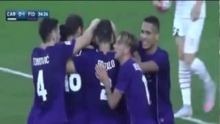 Video Gol Pertandingan Carpi vs Fiorentina