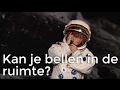 Kan je bellen in de ruimte? | Het Klokhuis