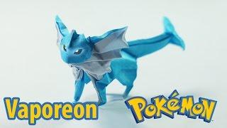 POKEMON GO - Origami Pokemon - Vaporeon tutorial (Henry Phạm)