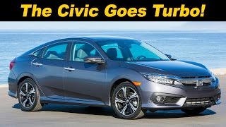 2016 / 2017 Honda Civic Turbo & Touring Review and Road Test | DETAILED in 4K UHD!!