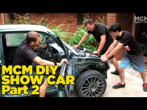 Show Car Build – Fixing