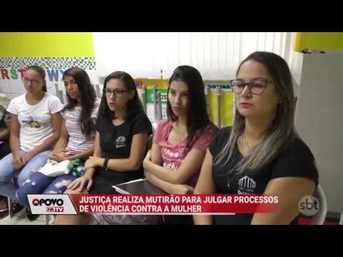 O Povo na TV: TJ realiza mutirão para julgar casos de violência contra mulher