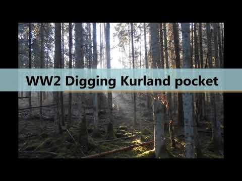 Digging Kurland, Battlefield relics