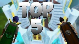 RuneScape Top 5 Skillcape Perks