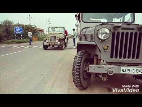 Royal jeeps Off-roading (final video ) osian , jodhpur , Rajasthan.