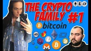 The Crypto Family #1 Hoe zet je een Bitcoin altcoin Ethereum Dash litecoin wallet op