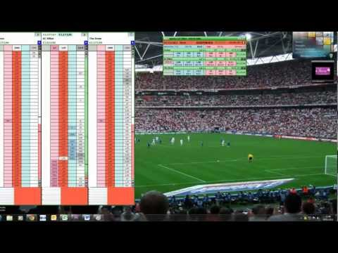 Real Trading Betting Live Tennis Betfair 2400 euro in one hour !