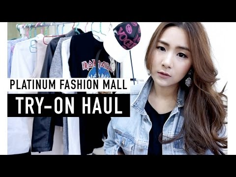 TRY-ON HAUL 2016 | Platinum Fashion Mall BKK | WEARTOWORKSTYLE