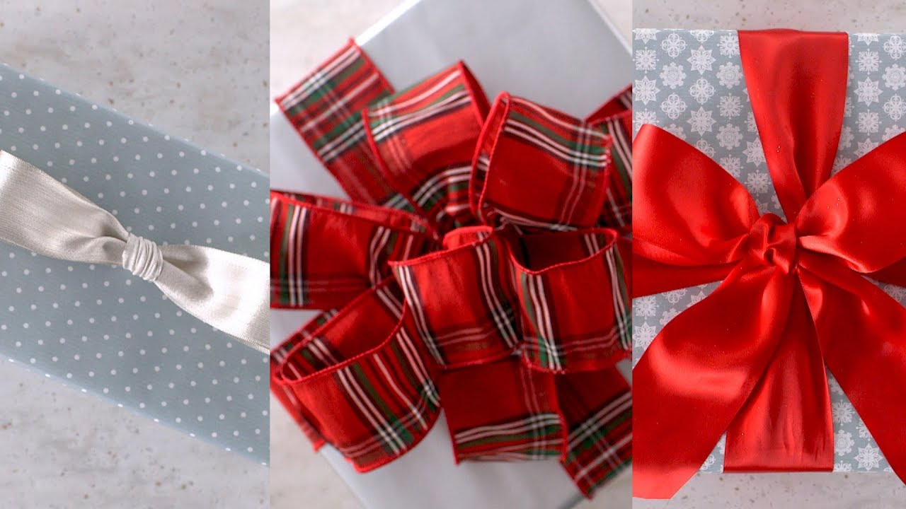 How to Tie the Perfect Bow- Martha Stewart