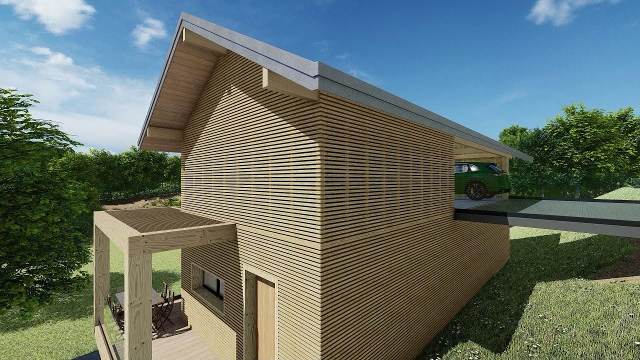 Animation Architecture 3d Maison Individuelle Youtube