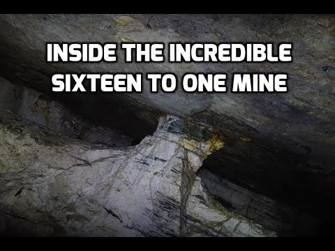 Exploring Active Mines: Alleghany's Sixteen to One Mine